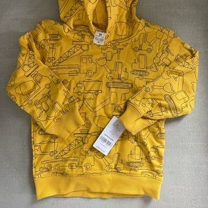 *Brand New* Carter's pullover hoodie in yellow